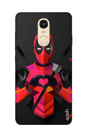 Valentine Deadpool Xiaomi RedMi Note 4 Cases & Covers Online
