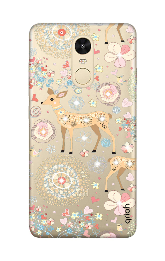 Bling Deer Xiaomi RedMi Note 4 Back Cover - Flat 35% Off On Xiaomi RedMi Note  4 Covers – Qrioh.com 977283332
