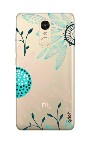 Pink And Blue Petals Xiaomi RedMi Note 4 Cases & Covers Online
