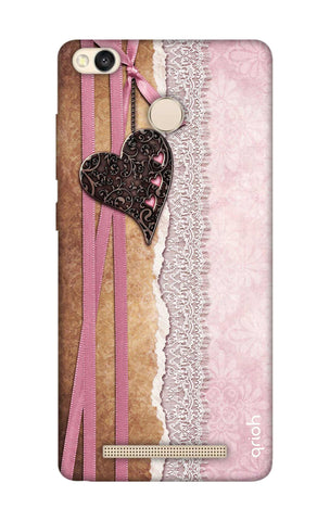 Heart in Pink Lace Xiaomi 3S Prime Cases & Covers Online