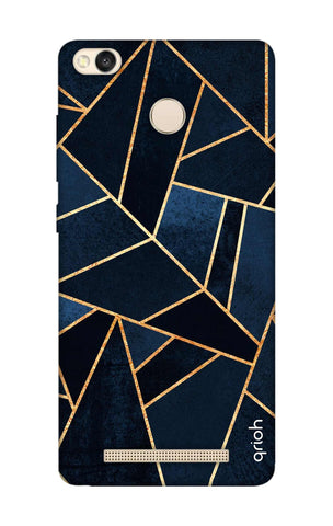 Abstract Navy Xiaomi 3S Prime Cases & Covers Online