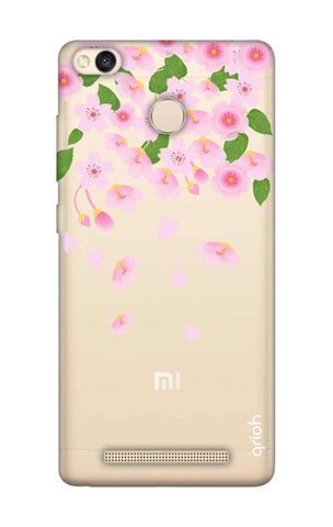 Pretty Pink Floral Xiaomi 3S Prime Cases & Covers Online