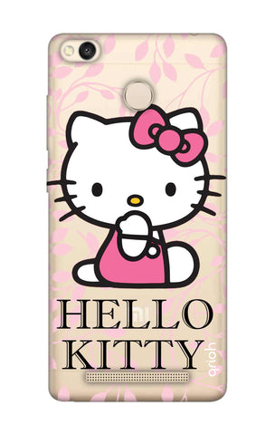 Hello Kitty Floral Xiaomi 3S Prime Cases & Covers Online