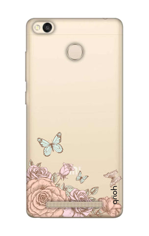 Flower And Butterfly Xiaomi 3S Prime Cases & Covers Online