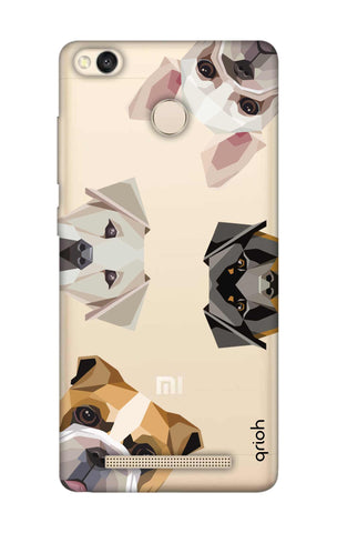 Geometric Dogs Xiaomi 3S Prime Cases & Covers Online
