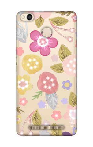 Multi Coloured Bling Floral Xiaomi 3S Prime Cases & Covers Online