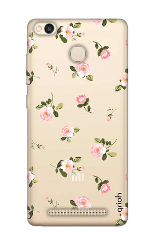 Pink Rose All Over Xiaomi 3S Prime Cases & Covers Online