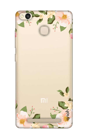 Flower In Corner Xiaomi 3S Prime Cases & Covers Online