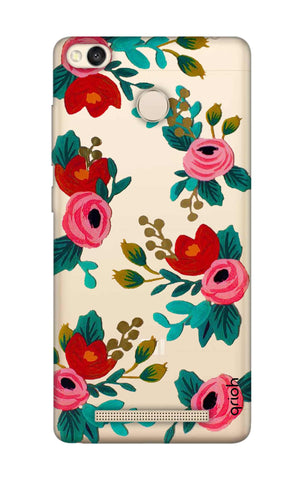 Red Floral Xiaomi 3S Prime Cases & Covers Online