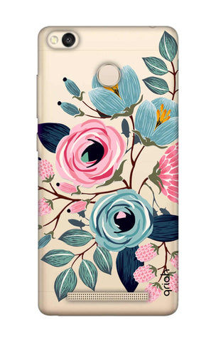 Pink And Blue Floral Xiaomi 3S Prime Cases & Covers Online
