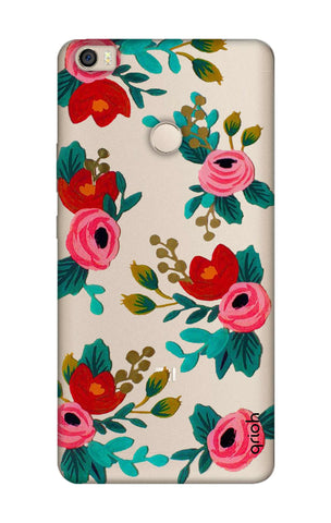 Red Floral Xiaomi Mi Max Cases & Covers Online