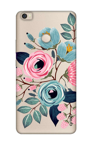Pink And Blue Floral Xiaomi Mi Max Cases & Covers Online