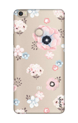 Beautiful White Floral Xiaomi Mi Max Cases & Covers Online