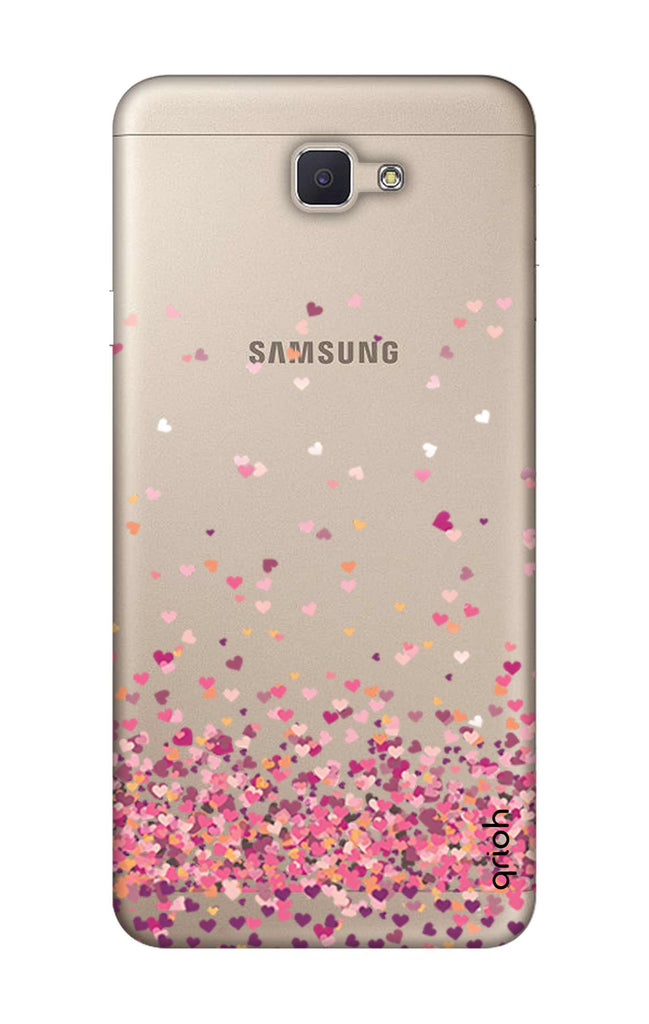 online retailer a8ecb eb253 Cluster Of Hearts Case for Samsung J7 Prime