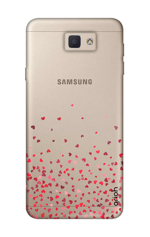 Floating Hearts Samsung J5 Prime Cases & Covers Online