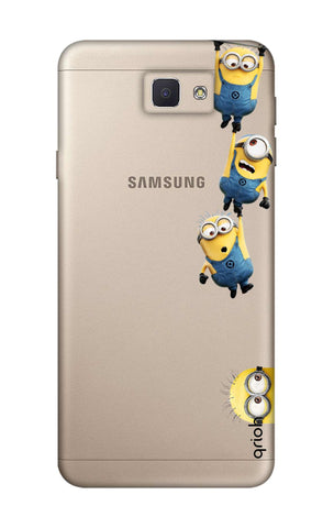 Falling Minions Samsung J5 Prime Cases & Covers Online