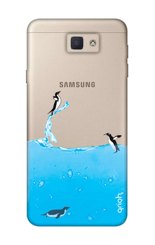 Penguins In Water Samsung J5 Prime Cases & Covers Online