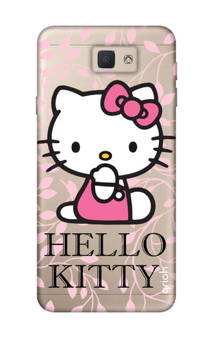 Hello Kitty Floral Samsung J5 Prime Cases & Covers Online