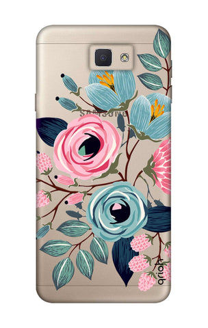 Pink And Blue Floral Samsung J5 Prime Cases & Covers Online