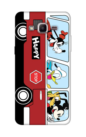 Cartoon Bus Samsung J2 Prime Cases & Covers Online
