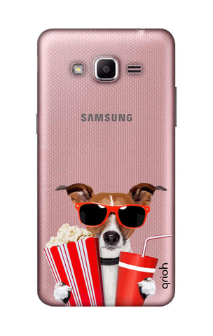 Dog Watching 3D Movie Samsung J2 Prime Cases & Covers Online