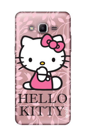 Hello Kitty Floral Samsung J2 Prime Cases & Covers Online