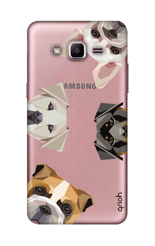 Geometric Dogs Samsung J2 Prime Cases & Covers Online