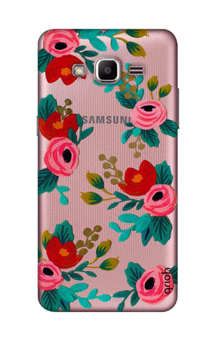 Red Floral Samsung J2 Prime Cases & Covers Online