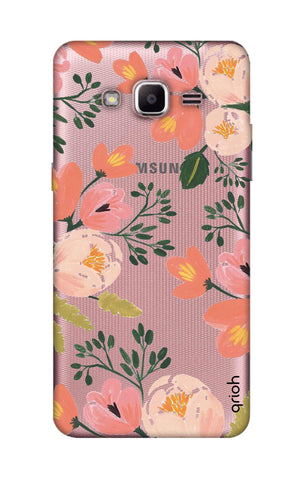 Painted Flora Samsung J2 Prime Cases & Covers Online