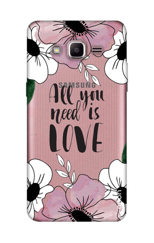 All You Need is Love Samsung J2 Prime Cases & Covers Online