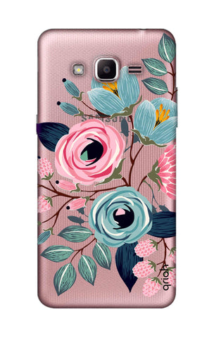 Pink And Blue Floral Samsung J2 Prime Cases & Covers Online