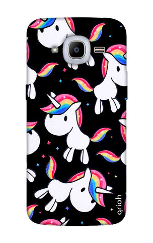 Colourful Unicorn Samsung J2 2016 Cases & Covers Online