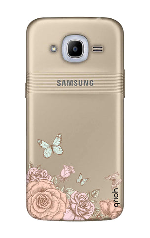 Flower And Butterfly Samsung J2 2016 Cases & Covers Online