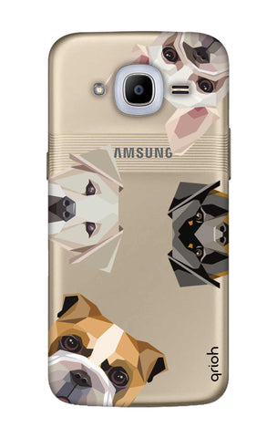 Geometric Dogs Samsung J2 2016 Cases & Covers Online