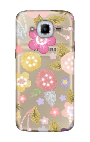 Multi Coloured Bling Floral Samsung J2 2016 Cases & Covers Online
