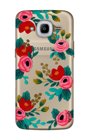 Red Floral Samsung J2 2016 Cases & Covers Online