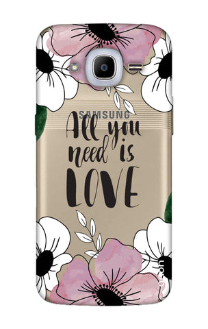 All You Need is Love Samsung J2 2016 Cases & Covers Online