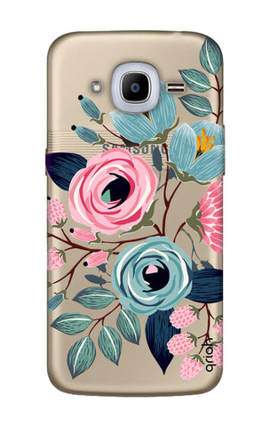 Pink And Blue Floral Samsung J2 2016 Cases & Covers Online