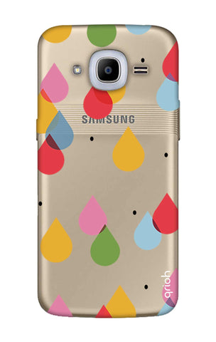 Colourful Drops Samsung J2 2016 Cases & Covers Online