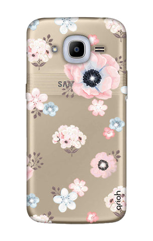 Beautiful White Floral Samsung J2 2016 Cases & Covers Online