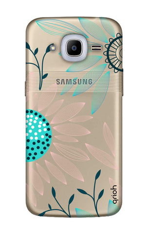 Pink And Blue Petals Samsung J2 2016 Cases & Covers Online