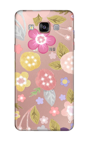 Multi Coloured Bling Floral Samsung A9 Pro Cases & Covers Online
