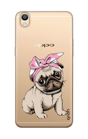 Pink Puggy Oppo F1 Plus Cases & Covers Online