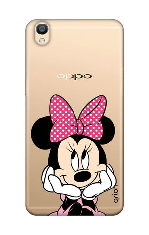 Minnie In Deep Thinking Oppo F1 Plus Cases & Covers Online