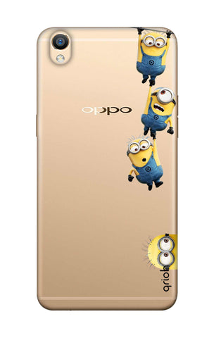 Falling Minions Oppo F1 Plus Cases & Covers Online