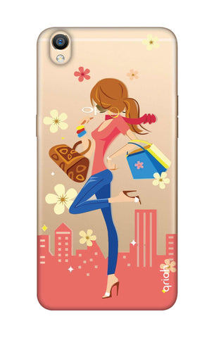 Shopping Girl Oppo F1 Plus Cases & Covers Online