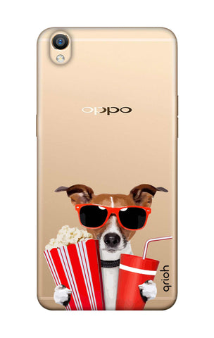 Dog Watching 3D Movie Oppo F1 Plus Cases & Covers Online