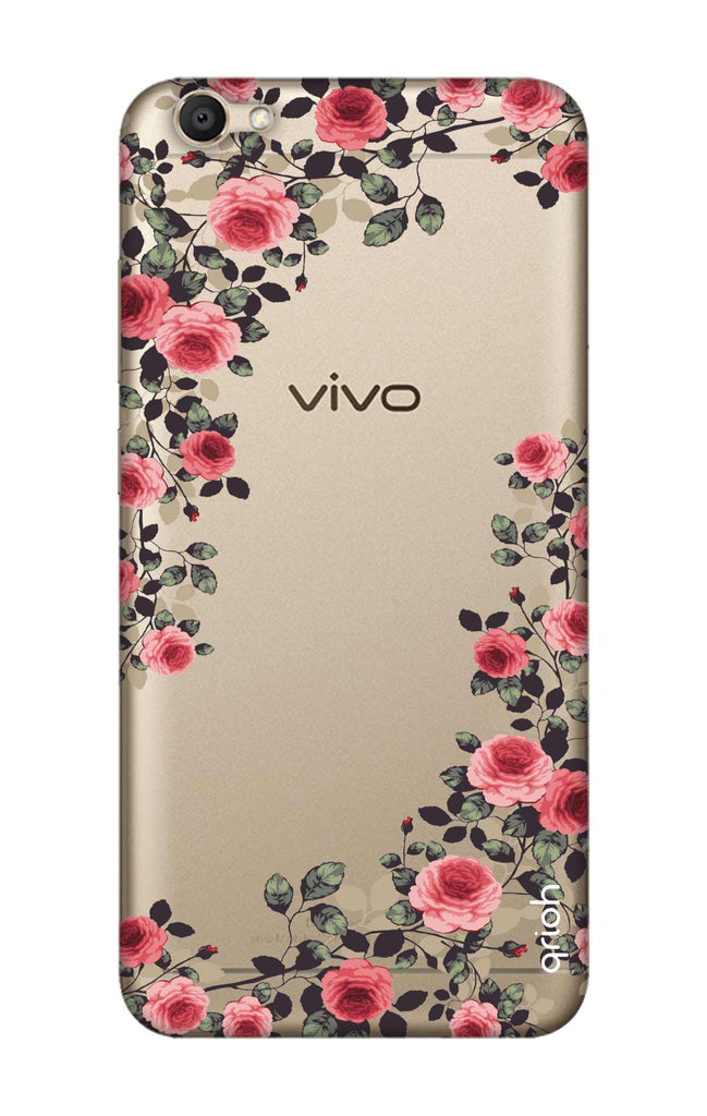 the best attitude bc760 1f61b Floral French Case for Vivo V5S