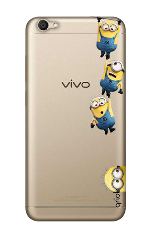 Falling Minions Vivo V5S  Cases & Covers Online