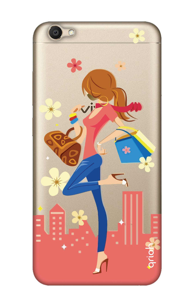 best sneakers b246d 23b0d Shopping Girl Case for Vivo V5S